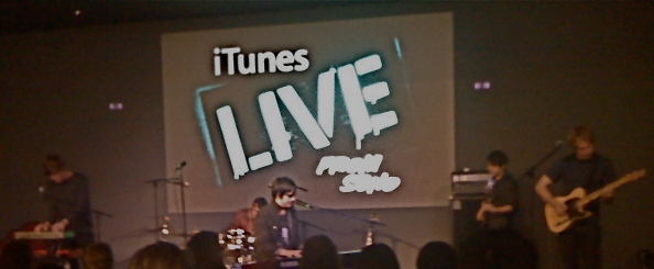 Parachute LIVE from Apple in Soho