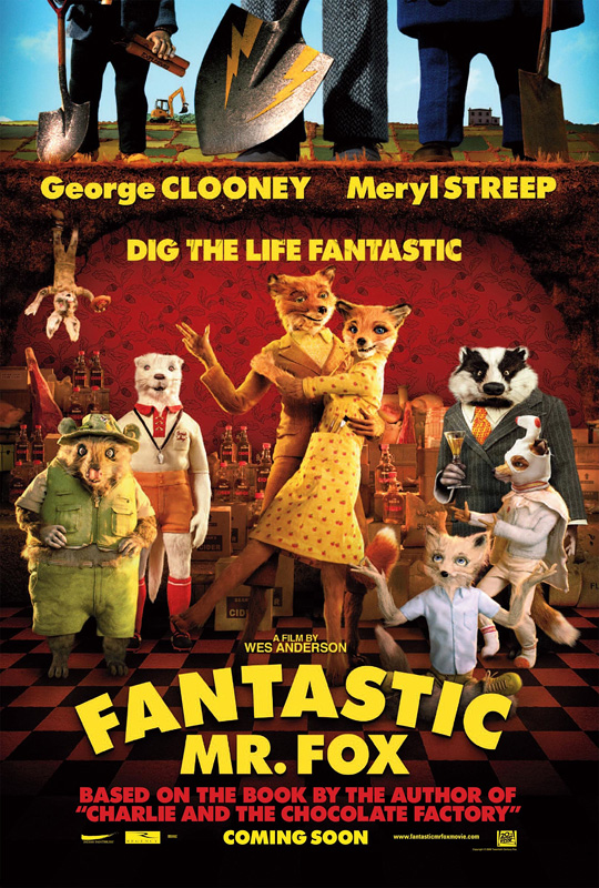The Fantastic Mr. Fox movie poster